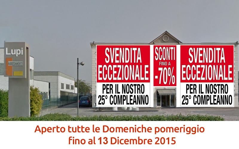 Arredamenti scontati fino al 70 a mantova news lupi for Marchi mobili italiani