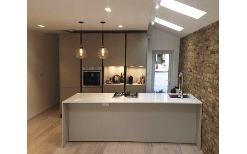 Cucina per una residenza metropolitana a londra progetti for Dove trovare i progetti per una casa