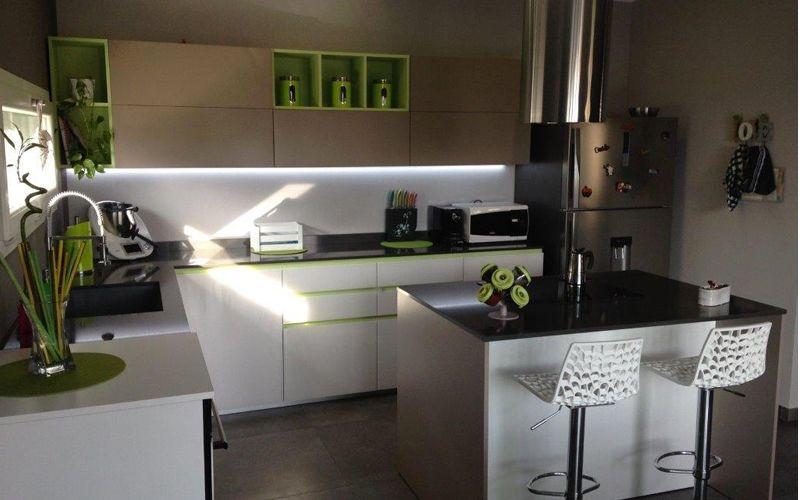 Fornitura d\'arredo cucina e living | Progetti | Lupi Arredamenti