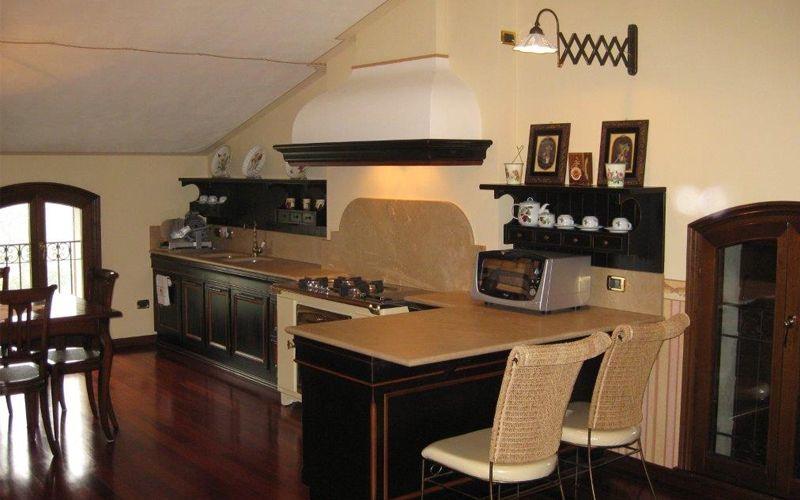 Progetto cucina e soggiorno a carpi progetti lupi - Arredamento mansarda ikea ...